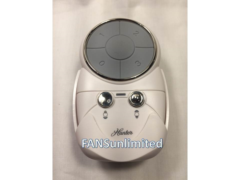 Hunter Fan 85772 Rpl Oem White Remote Control Transmitter Replacement