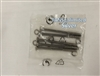 Casablanca Fan Canopy Mounting Screws SILVER GENUINE