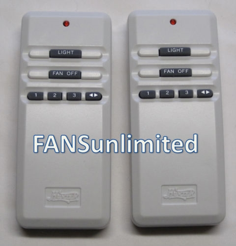 Hunter Fan UC7848T (Value Pack of 2) Genuine Remote Control Replacement