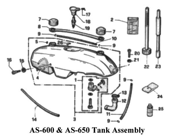 Aqua Scooter Hose Fuel Tank To Carb
