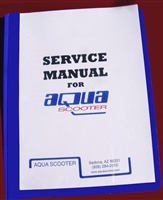 Aquascooter Service Manual