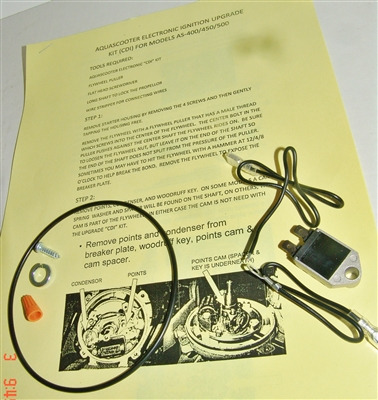 Aqua Scooter Electronic Ignition Upgrade Kit
