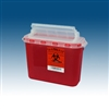 Sharps Container, 5.4 Quart, Red