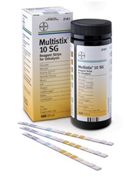 Multistix 10SG, 100/bottle