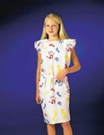 "Gown, Pediatric Tiny Tracks Print, 20"" x 36"" TPT, 50/case"
