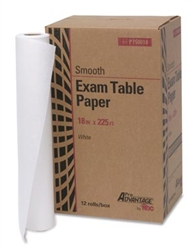 "Table Paper, Smooth 18"" x 225', 12/case"