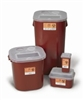 Sharps Container, 2 Gallon Translucent Red