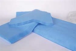 "Autoclave Wrap, 20"" x 20"", Blue, 500/case"