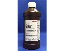 Peroxide 3%, 16oz. bottle