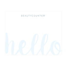 Beautycounter Hello Note Cards & Envelopes