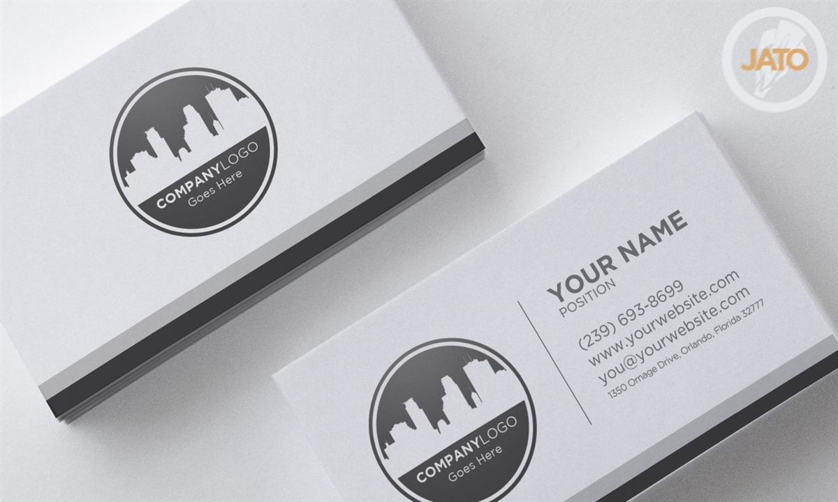 100 Jato Business Cards Free