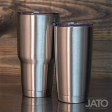 JATO Stainless Steel Double Wall Tumbler: 20/30oz