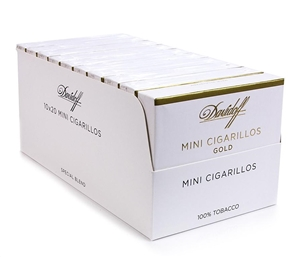 Davidoff Mini Cigarillos Gold (Single Pack of 20)
