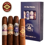 Diamond Crown Royal 4 Cigar Collection (Includes 1 of Each: Diamond Crown Robusto #4, Diamond Crown Maximus #4, Diamond Crown Julius Caeser Toro, and Diamond Crown Black Diamond Emerald)