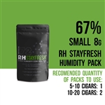 RH Stayfresh 67% 8 g Humidifier Packs
