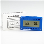 Humi-Care Rectangle Digital Hygrometer