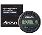Xikar Digital Hygrometer with Analog Display and Tempurature