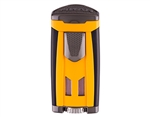 Xikar HP3 Triple Flame Lighter - Burnt Yellow