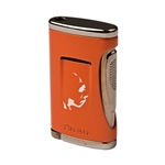 Xikar Roma Craft Neanderthal Xidris Single Flame Lighter - Orange