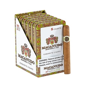 Macanudo Cafe Court (Single Tin of 5)