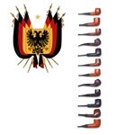 German-made Basket Pipes (Assorted)