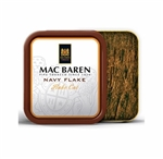 Mac Baren Navy Flake Pipe Tobacco - 3.5 oz Tins