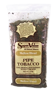 Super Value Pipe Tobacco - Mellow Blend - 12 oz