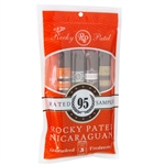 Rocky Patel Nicaraguan 95 Rated Toro Freshness Pack Sampler -Includes 1 of Each: Royale, Vintage 2006, Tavicusa, and 15th Anniversary