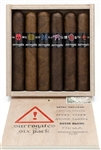 Surrogates 6 Robusto Sampler - 5 x 50 (Includes 1 of Each: Skull Breaker, Crystal Baller, Tramp Stamp, Animal Cracker, Satin Glove, and 7th Sam)