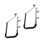 SUP Kayak Rail Mounted Storage Rack for Boats, Sailboats, Yachts