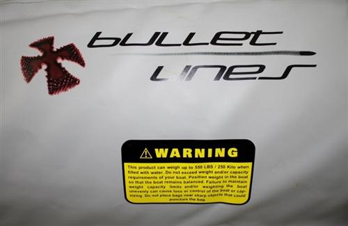Bullet Lines 550 lb Ballast Bag w/ Cover