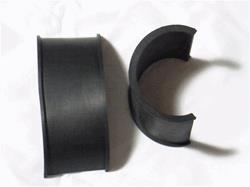 rubber collar spacing inserts