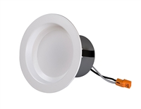 NICOR DCR4 Dimmable Recessed LED Downlight with Baffle