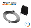 NICOR DLE43120SRD 4 in. Nickel Selectable Edge Lit LED Downlight