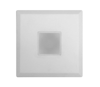 NICOR DLF-10-120 Square SureFit Surface Mount LED Downlight