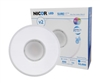 NICOR SureFit DLFv2 Round Surface Mount LED Downlight