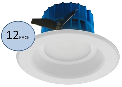 NICOR DLR4-3006 Recessed LED Downlight 12-Pack