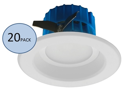 NICOR DLR4-3006 Recessed LED Downlight 20-Pack