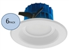 NICOR DLR4-3006 Recessed LED Downlight 6-Pack