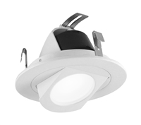 "NICOR DLR4-R-10-120-WH 4"" Retractable LED Downlight"
