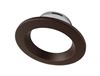 NICOR DLR4 (v5) 4-inch Oil-Rubbed Bronze Recessed LED Downlight