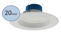 NICOR DLR56-3008 Recessed LED Downlight 20-Pack