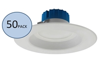 NICOR DLR56-3008 Recessed LED Downlight 50-Pack