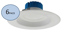 NICOR DLR56-3008 Recessed LED Downlight 6-Pack