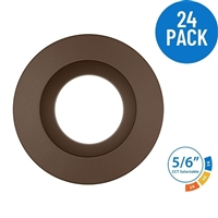 DLR56 SELECT 5/6 in. LED Recessed Downlight, Oil-Rubbed Bronze 24 Pack