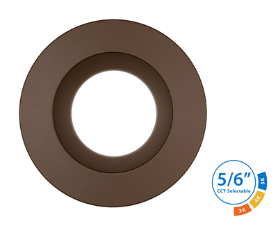 DLR56 SELECT Series 5/6 in. Oil-Rubbed Bronze LED Recessed Downlight
