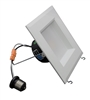 "NICOR DQR5-10-120-WH-BF 5"" LED Square Retrofit Kit"