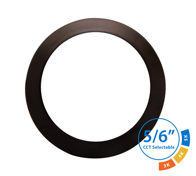 NICOR DSK563120S 6 in. Oil-Rubbed Bronze Selectable Surface Mount LED Downlight