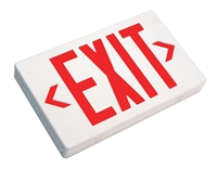 NICOR EXL1-10-UNV-WH-R-2 LED Emergency Exit Sign