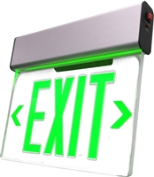 NICOR EXL2-10UNV-AL-CL LED Exit Sign